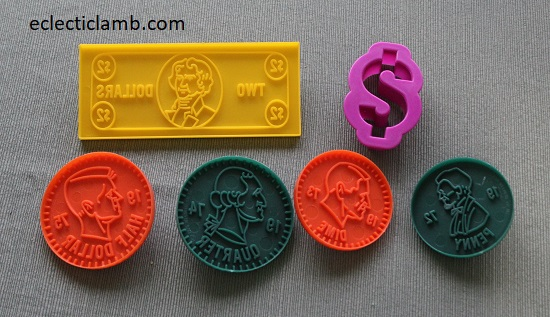 money cookie cutters