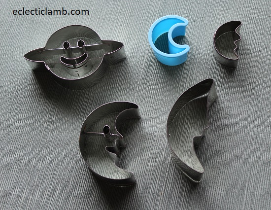 Moon Planet Cookie Cutters