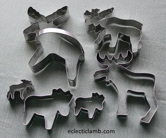 Moose Cookie Cutters