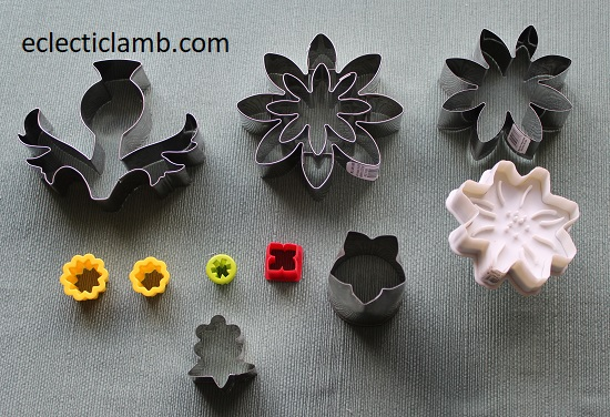 other flowers cookie cutters