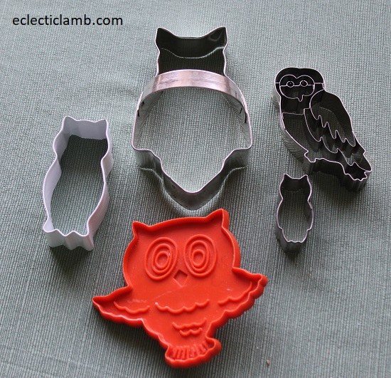 Owl Cookie Cutters