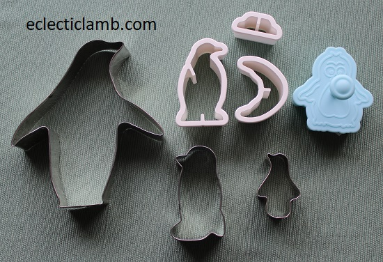 penguin cookie cutters