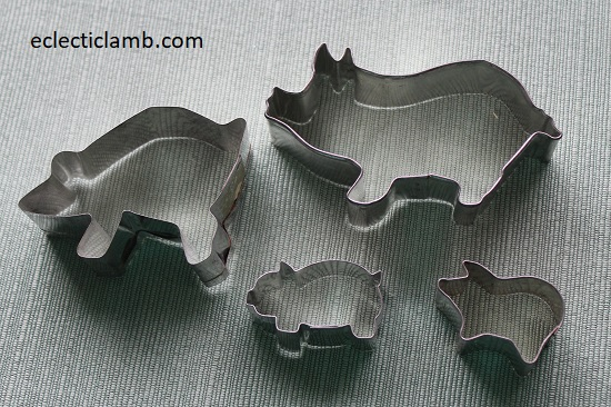 Pig Cookie Cutters