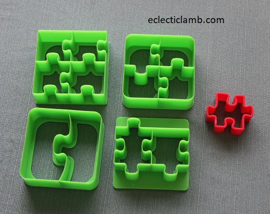 Puzzle Cookie Cutters