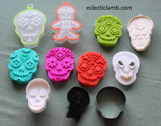 Skull Cookie Cutters