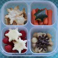 Snowflake Snack Lunch