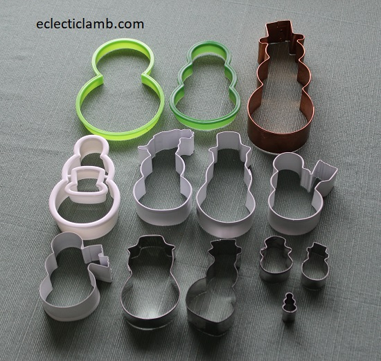 Snowman Cookie Cutters