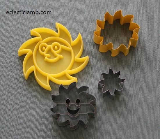Sun Cookie Cutters