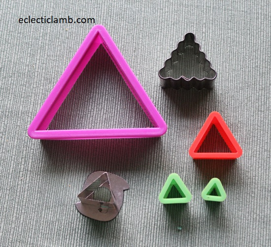 Triangle Cookie Cutters