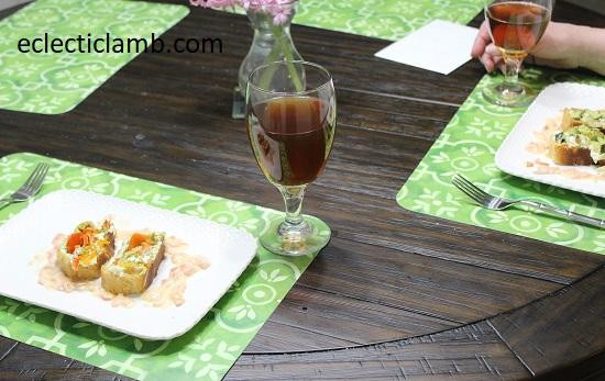 Vegetable Wellington with Lemon Wine Sauce