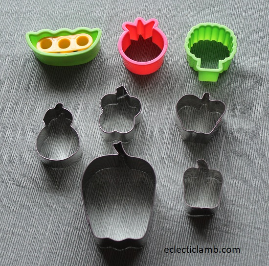 Vegetables Cookie Cutters