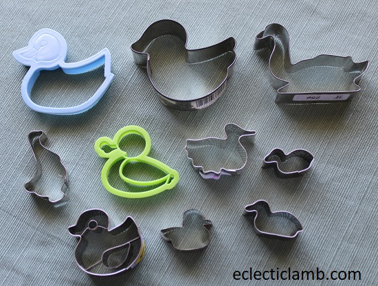 waterfowl cookie cutters