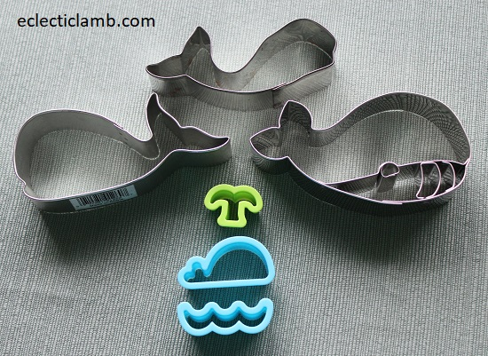 Whale Cookie Cutters