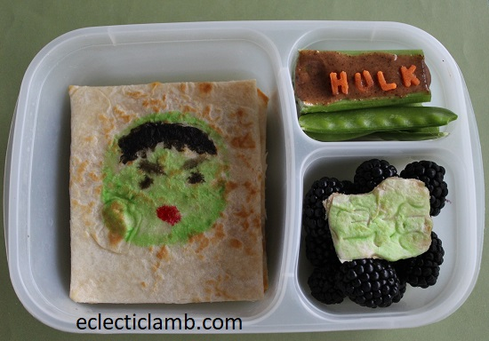 Hulk Bento Lunch
