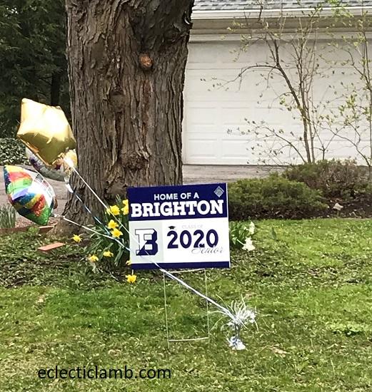Brighton Senior 2020 Sign