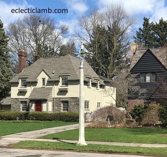 Cream Stone House