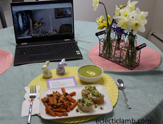 Easter Meal 2020 Virtual