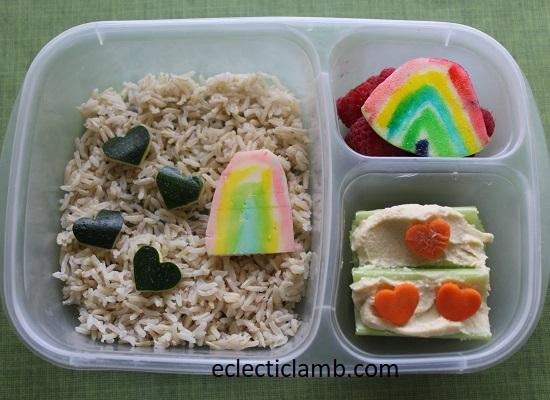 Heart Rainbow Lunch