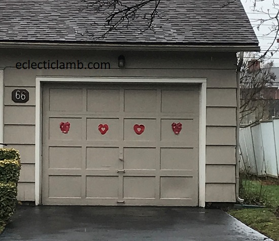Hearts on Garage