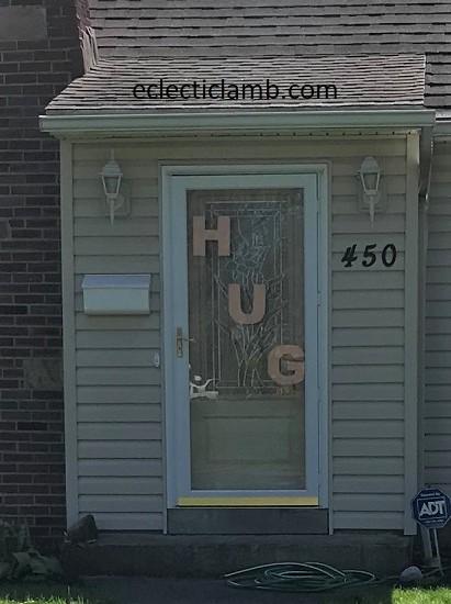 Hug close