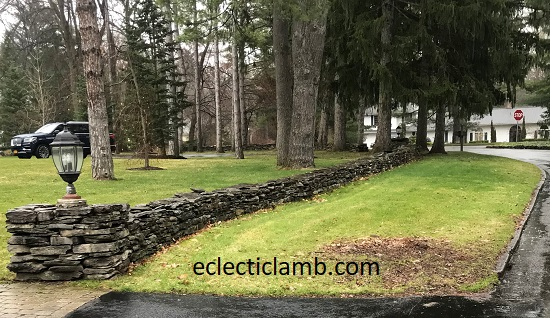 Knollwood Stone Wall