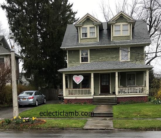 large heart porch