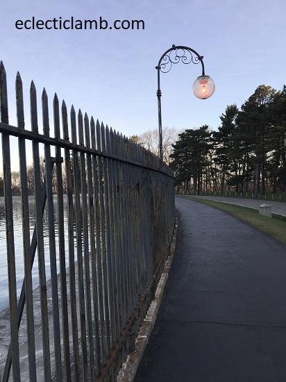 path around reservoir