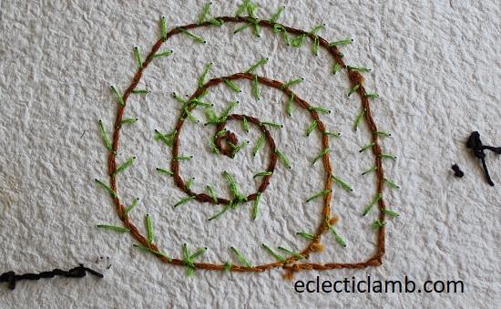 back of snail 6x6