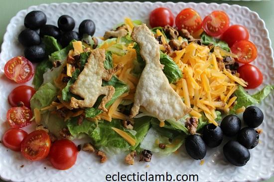 Cinderella Proposal Salad