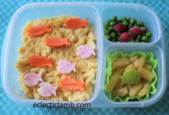 Fish Cauliflower Mac and Cheese