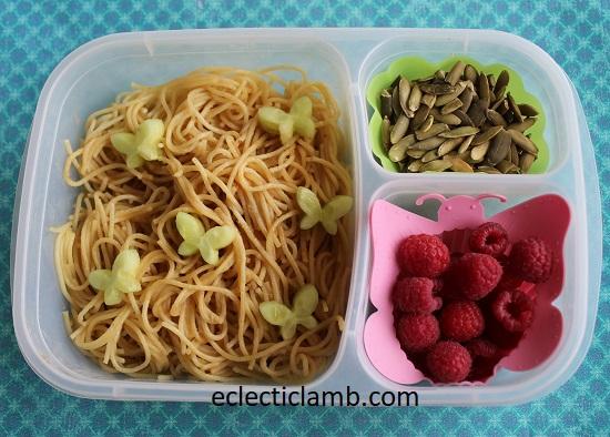 Butterfly Peanut Noodles