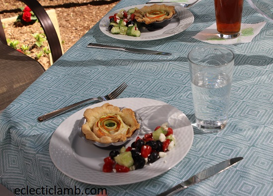 Spiral Tarts Dinner