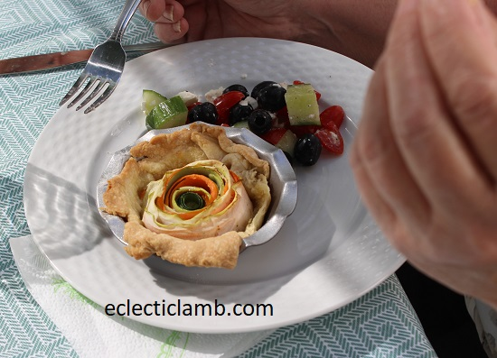 Veg Tart Meal