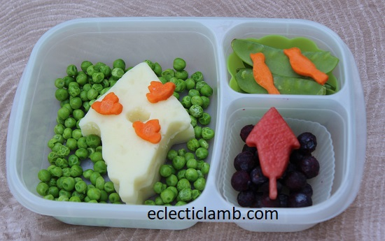 Birdhouse Themed Food