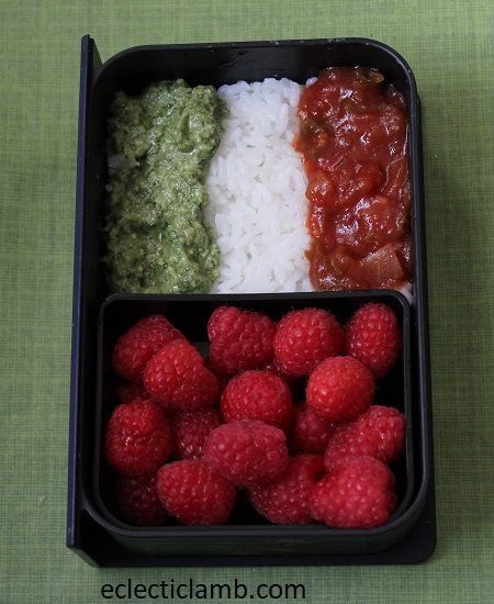 Italy Flag Lunch