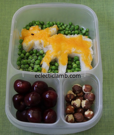 moose rice bento lunch