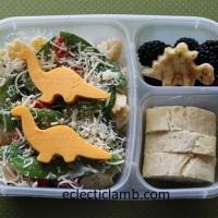 Dinosaur Pasta Salad